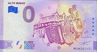 BILLET 0  EURO ALTO MINHO ANNIVERSARY  PORTUGAL 2021 NUMERO 2401