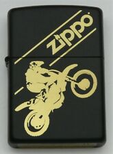 Original  ZIPPO Benzin-Sturmfeuerzeug in OVP - Motorad Motocross ........Z1217