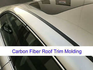 For BMW2002-2018 models 2pcs Flexible CARBON FIBER ROOF TRIM Molding Kit