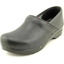 Zapatos planos de mujer negro Sanita