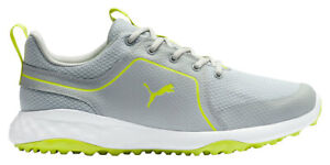 Puma Grip Fusion Sport 2.0 Golf Shoes 193466-04 High Rise/Lime Punch Men's New