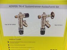 Kemper Systemtrenner Auslaufventil fk-4BA DN15