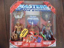 MOTU Masters of the Universe 200x  WOLF ARMOR HE-MAN + SNAKE ARMOR SKELETOR