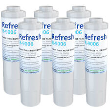 Refresh Water Filter - Fits KitchenAid KRFF302ESS Refrigerators (6Pack)