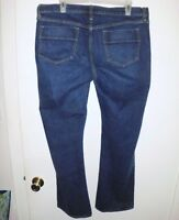 OLD NAVY The Sweetheart Jeans Sz 14 Regular Women's Boot Cut Blue Stretch Denim