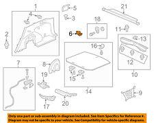 HONDA OEM 13-17 Accord Front Door-Hole Cover 83520SLEJ01ZC