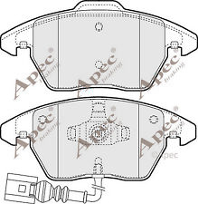 1x OE Quality Brand New Apec Brake Pad Set - PAD1313 - 12 Month Warranty!