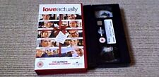 LOVE ACTUALLY UNIVERSAL UK PAL VHS VIDEO 2004 Hugh Grant Liam Neeson Colin Firth