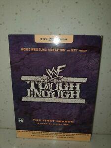 WWF/WWE TOUGH ENOUGH ***RARE*** SEASON 1 REGION 1