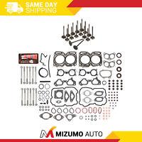 Head Gasket Set Intake Exhaust Valves Fit 04-06 Subaru Turbo 2.5L DOHC EJ255