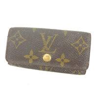 Louis Vuitton Key holder Key case Monogram Brown Woman Authentic Used Y4297