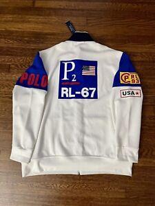 Bnwt Ralph Lauren Polo Cp Rl-93 sailing racing track jacket Sz XXL Sport Regatta