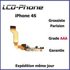 iPhone 4S - Connecteur de charge + Micro (connecteur dock) - Blanc