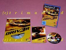 Ps2 _ DRIV 3r & offiz. soluzione libro _ driver 3 _ prima edizione DVD OTTIME CONDIZIONI