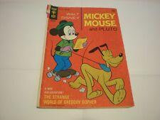 WALT DISNEY'S MICKEY MOUSE AND PLUTO #127 (NOV 1970) GOLD KEY COMICS
