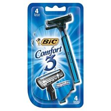 Bic Comfort 3 Shavers For Men Sensitive Skin 4 Each