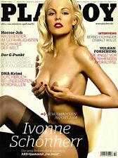 Playboy 10/2008    Ivonne Schönherr & Alena Gerber    Oktober/2008