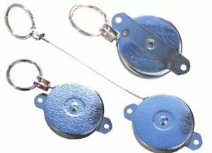 Key Bak Key Retractor Key Reel With Fixing Holes For Displays Or Holding Tools
