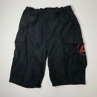 Reebok Crossfit Mens Small Shorts Black Workout Athletic
