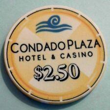 "New listing $2.50 ""Snapper"" Condado Plaza Hotel Casino Chip San Juan Puerto Rico Cpz-2.5 Cc"