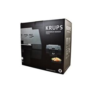 KRUPS FDK 451, Professional Sandwich Maker, Black, free shipping Worldwide