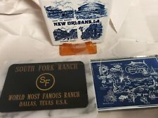 Lot of Paperweights, South Fork Ranch Paperweight - Marble, Grand Caymen Island
