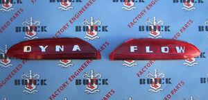 1950-1952 Buick Trunk Plastics | DYNA FLOW | OEM #1340236, 1340237