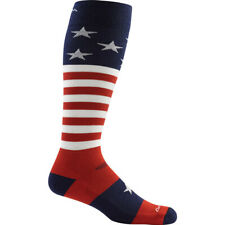 Darn Tough Men's Captain America Merino Wool OTC Ultra-light Socks | USA Flag Pr