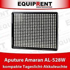Aputure Amaran AL-528W Wide Tageslicht High CRI LED Leuchte für NP-F Akkus EQM21