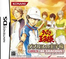 USED DS Prince of Tennis Doubles no OjiSama Girls game soft