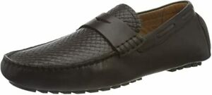 Salamander Men's Ballado Leather Moccasin Black EU 43 NEW