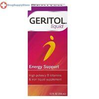 Geritol Complete Liquid 12 oz Multivitamin and Iron Supplement