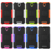 Shockproof Hybrid Rugged Armor Hard Case Stand Cover For ZTE Blade L5 /L5 Plus