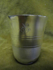 timbale argent minerve (french silver goblet) 65gr aux filets