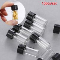 flacons en verre huile essentielle de bouteille des bouteilles réutilisables