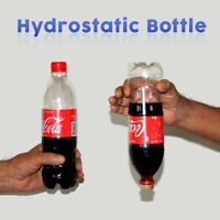 Magician's Hydrostatic Cola Bottle Liquid Floating Without Coke Cap Magic Trick