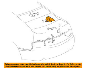 GM OEM PDC Backup Reverse Parking-Park Aid Sensor Module 22743052