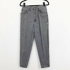 Vintage Moschino Jeans Made In Italy Size 32 Medallion Coins Mom Jeans Tapered
