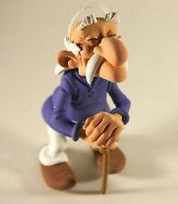 Asterix & Obelix Methusalix Synthetic Resin Figurine Fariboles ca.12cm New (L)