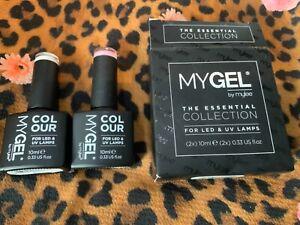 MYGEL by Mylee French Manicure Duo Gel Polish 2x10ml UV/LED Soak-Off Nail Artnew
