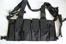 Mil-Tec MAG Carrier Chest Rigg Tactical Vest Black