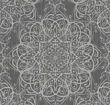"13489-30-919 edle Design Vinyltapete /""Aktion/"" weiss grau dunkelgrau mit Glanz"