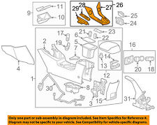Chevrolet GM OEM 11-15 Cruze CENTER CONSOLE-Panel Assembly 95374983