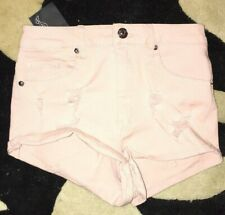 Divided H&M Jean shorts pink NEW