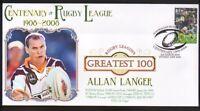 ALLAN LANGER BRISBANE BRONCOS RUGBYs GREATEST 100 COVER