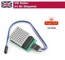 MAX7219 Dot Matrix MCU LED Display Control Module For Arduino Raspberry Pi