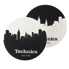 TECHNICS SLIPMATS coppia di panni sottodisco per giradischi (NEW YORK)