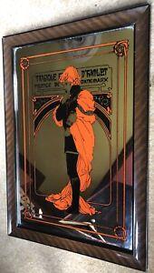 Vintage Alphonse Mucha - Tragedy Of Hamlet Prince Of Denmark Art Nouveau Mirror