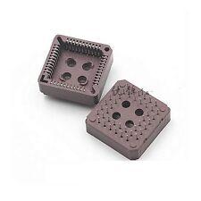 2PCS New  PLCC44 44 Pin 44Pin DIP IC Socket Adapter PLCC Converter