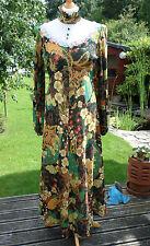 Vintage 1960s maxi dress Boho style label Hamells London Retro Festival dress